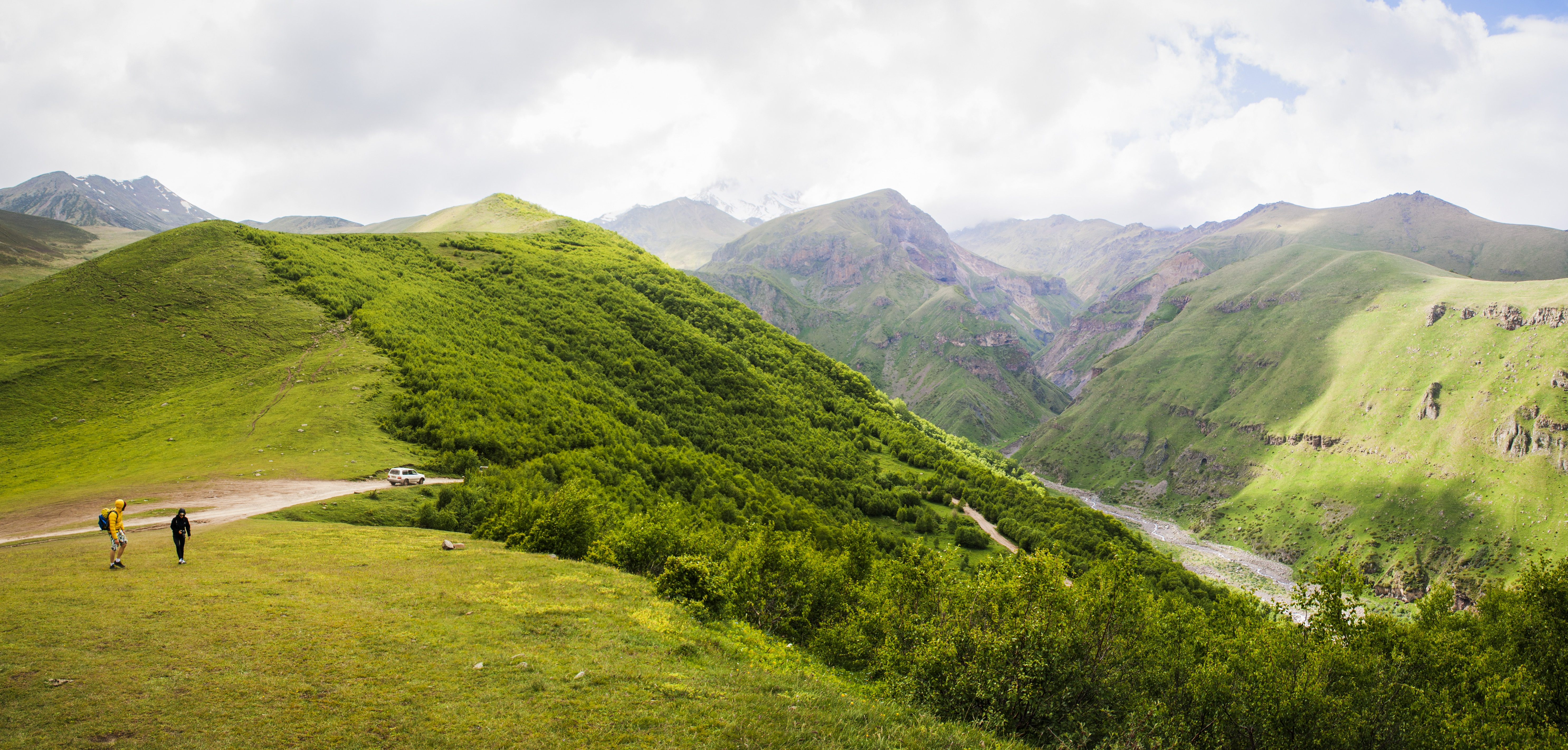 Georgische Berglandschap